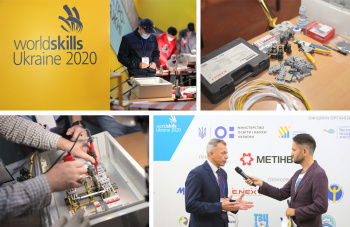 E.NEXT-Ukraine is the general sponsor of the event «WORLDSKILLS UKRAINE 2020» of the electrical installation scope